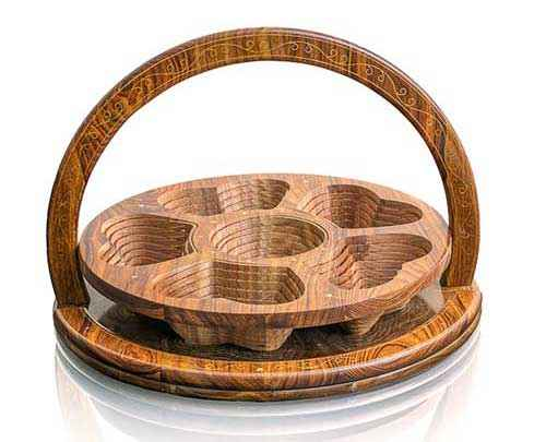 a gift for years to come Wooden Folding Basket